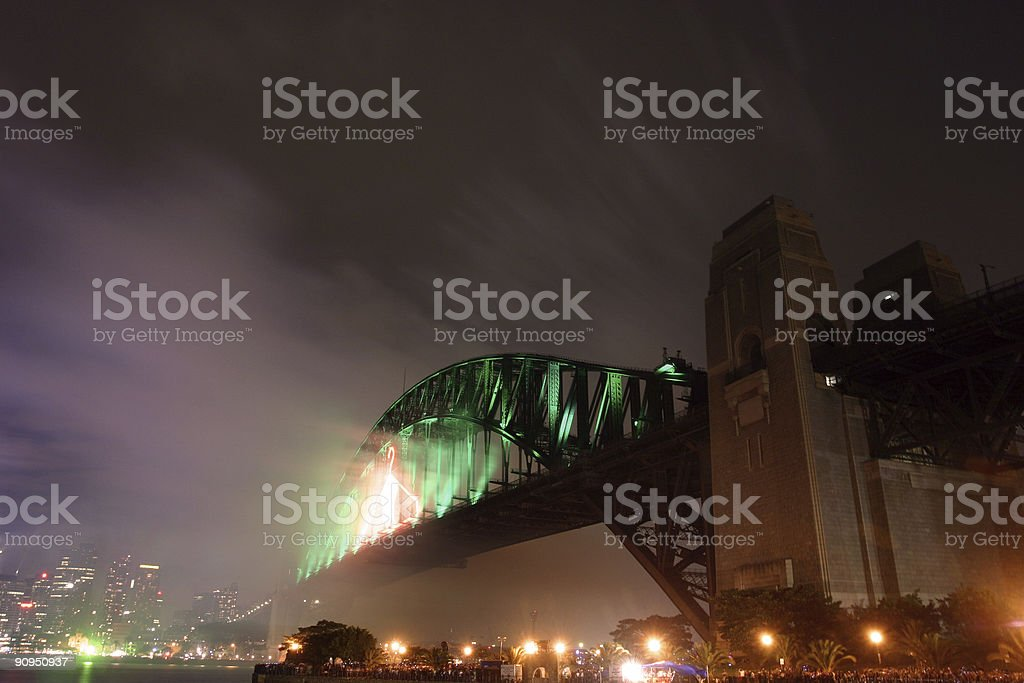 new years eve, sydney royalty-free stock photo