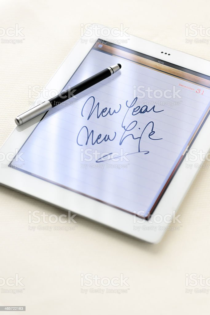 New Year's event stock photo