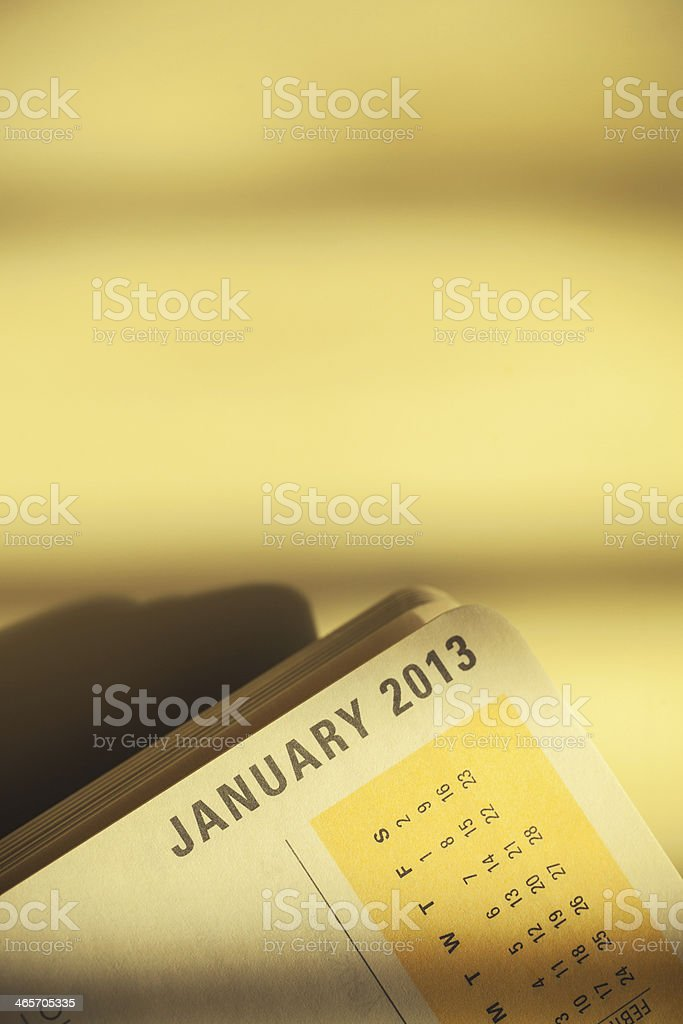 New Year's first month royalty-free stock photo