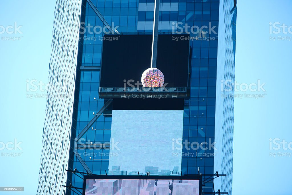 New Years NYC Times Square Ball stock photo