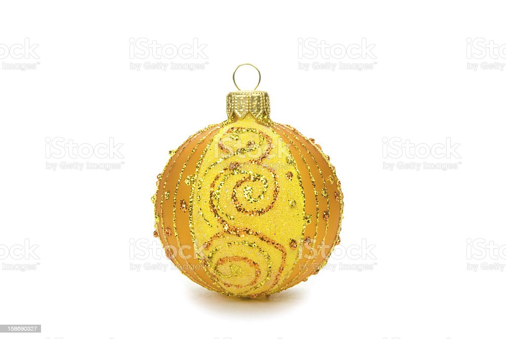 New Year's ornament royalty-free stock photo