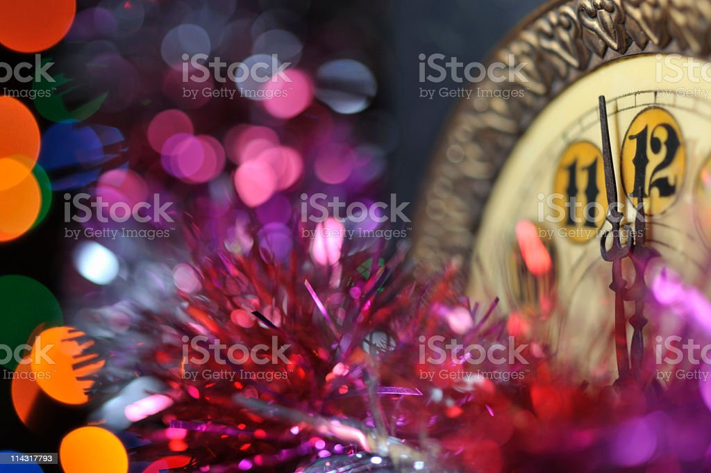 New Years Party Background stock photo