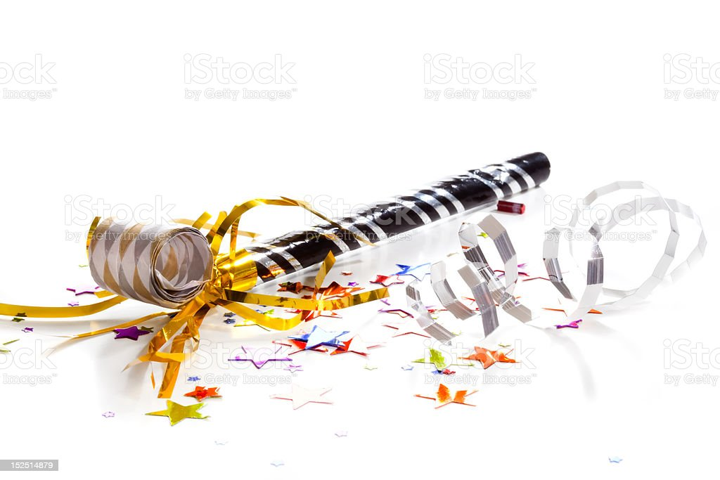 New Years Party stock photo
