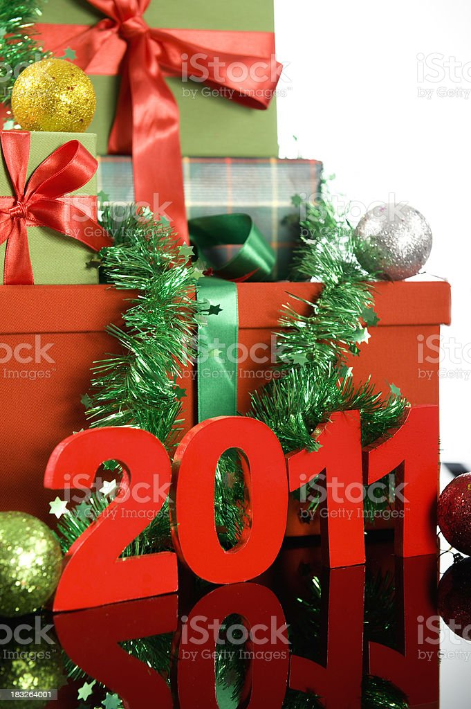 New Year's royalty-free stock photo