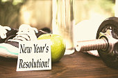 New Year's Resolution to get healthy.