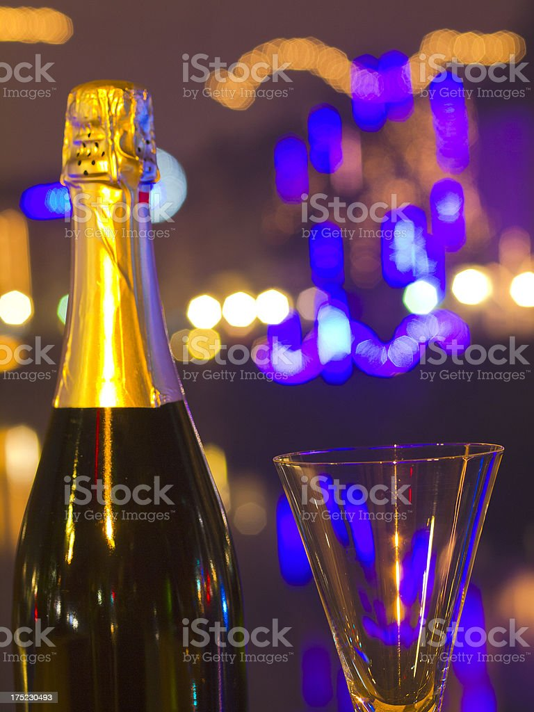 New Year's time royalty-free stock photo
