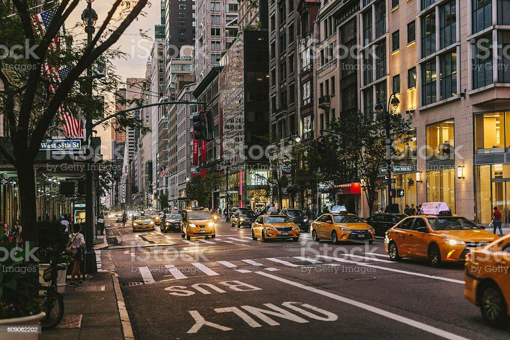 New York - 5th Avenue stock photo