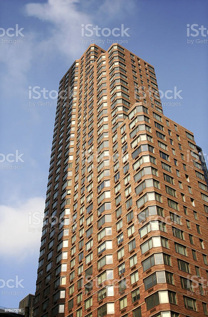 new york apartments royalty-free stock photo