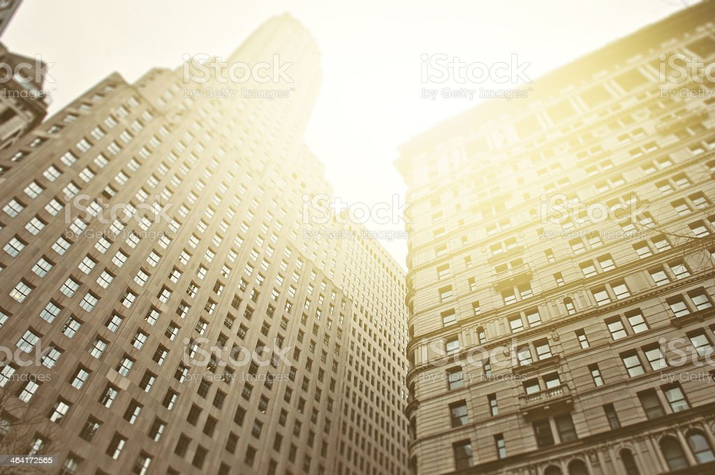 New York Architecture Background royalty-free stock photo