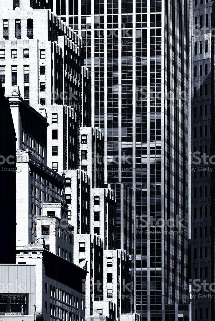 New York architecture royalty-free stock photo