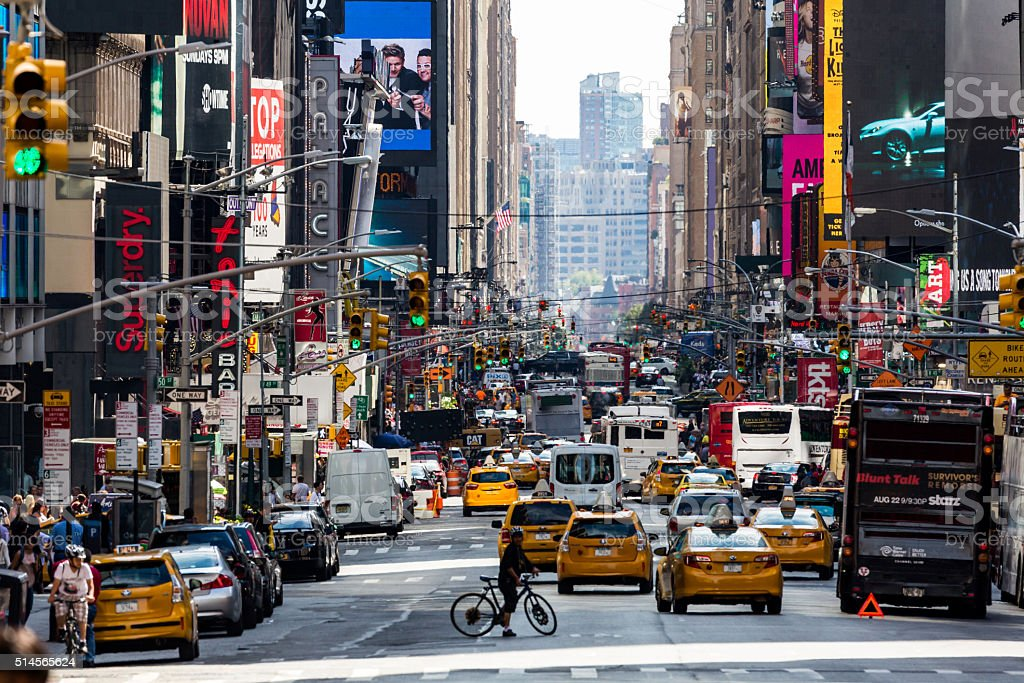 New York August 22, 2015 stock photo