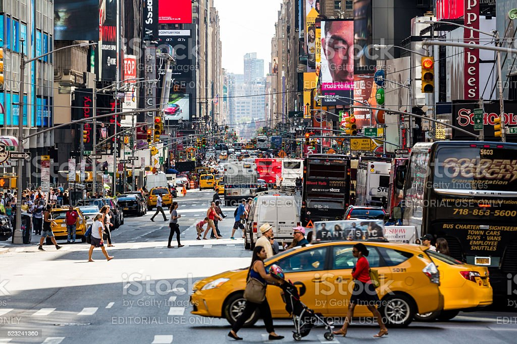 New York August 22, 2015 stock photo