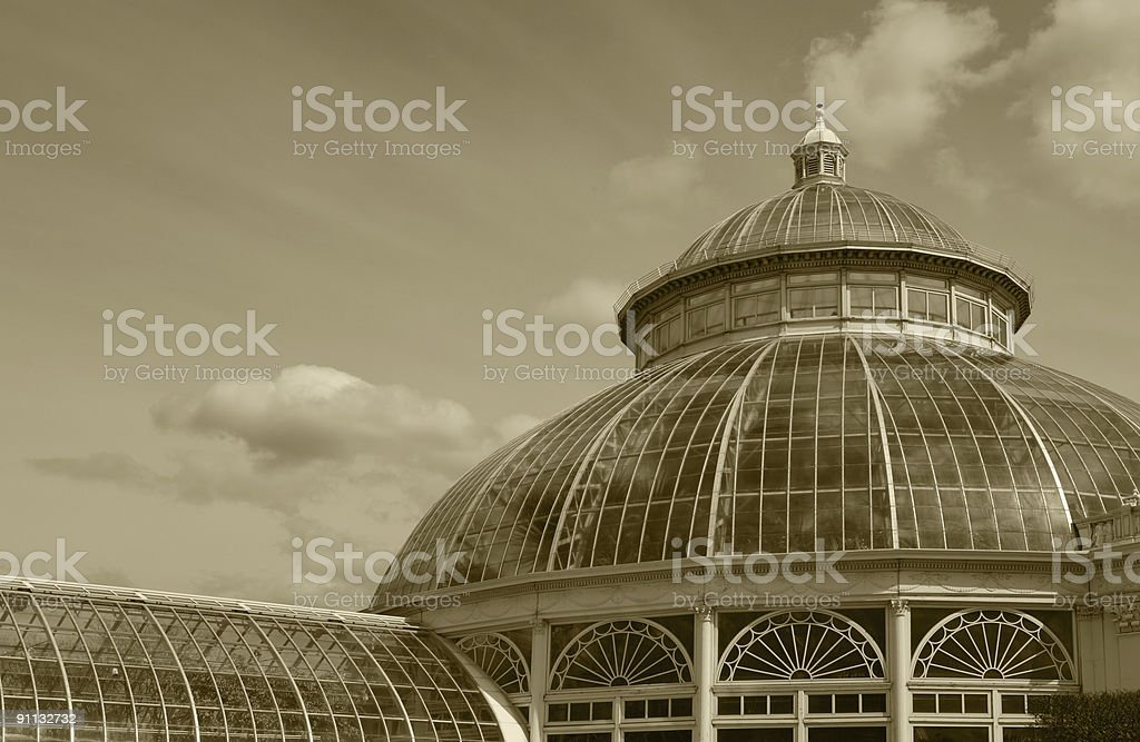 New York Botanical Garden royalty-free stock photo