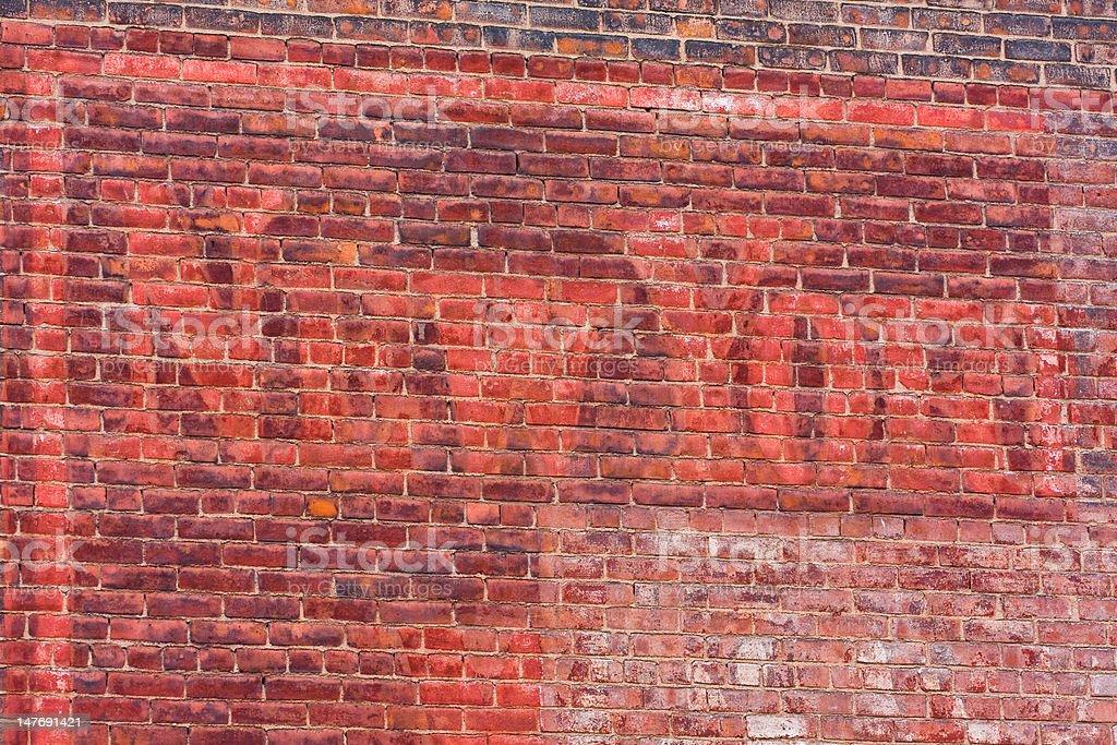 New York Brick Wall royalty-free stock photo