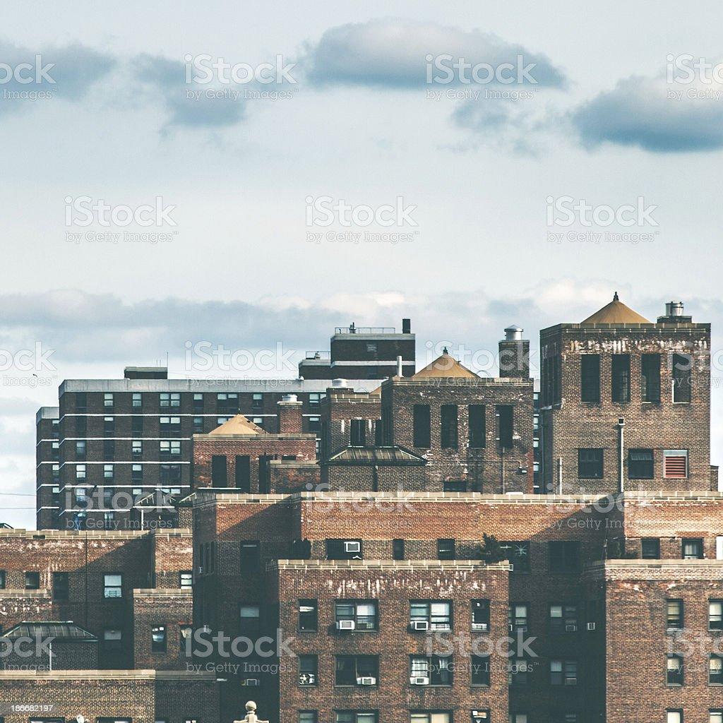 New York buildings royalty-free stock photo