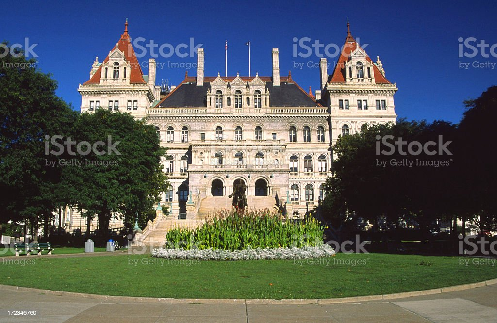 New York Capitol royalty-free stock photo