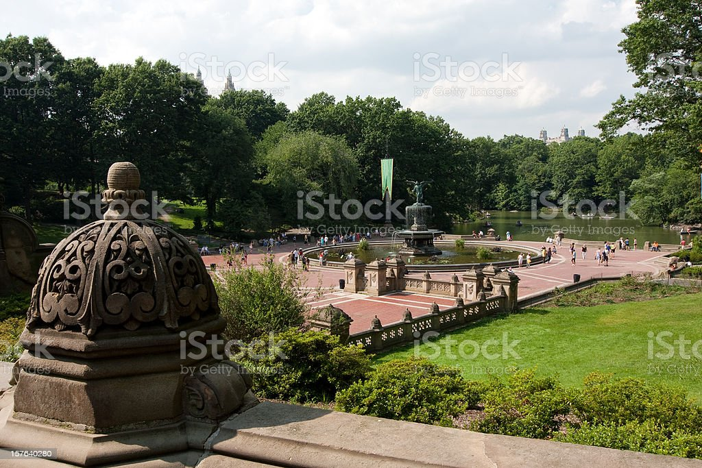 New York, Central Park stock photo