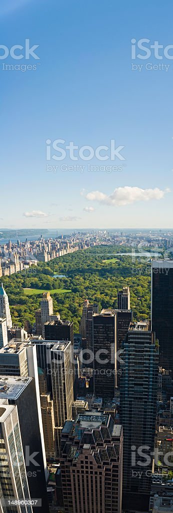 New York Central Park West Side royalty-free stock photo