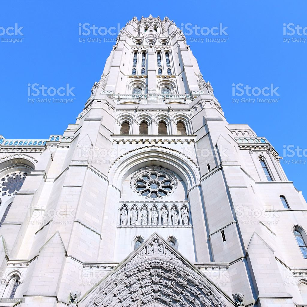 New York church stock photo
