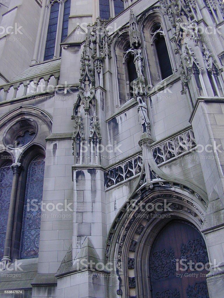 New York church stock photo