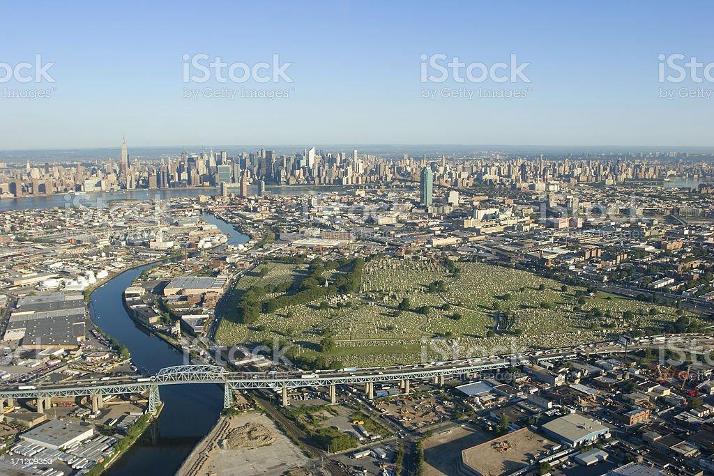 New York City Aerial stock photo