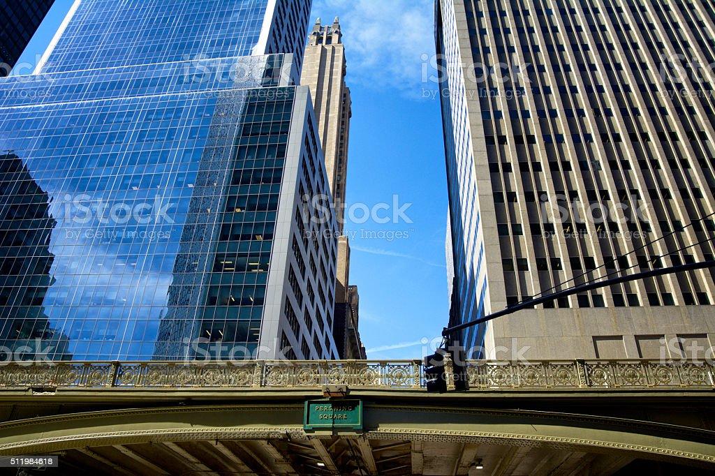 New York City Architectural eras and styles, Midtown Manhattan Cityscape stock photo