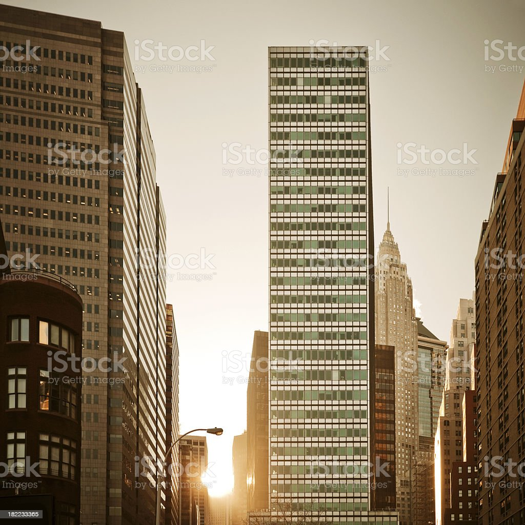 New York City Architecture royalty-free stock photo