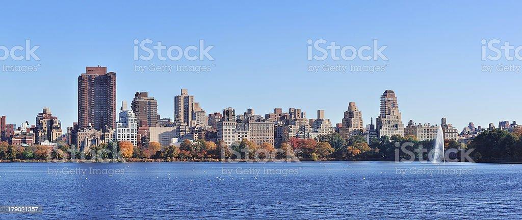 New York City Autumn royalty-free stock photo