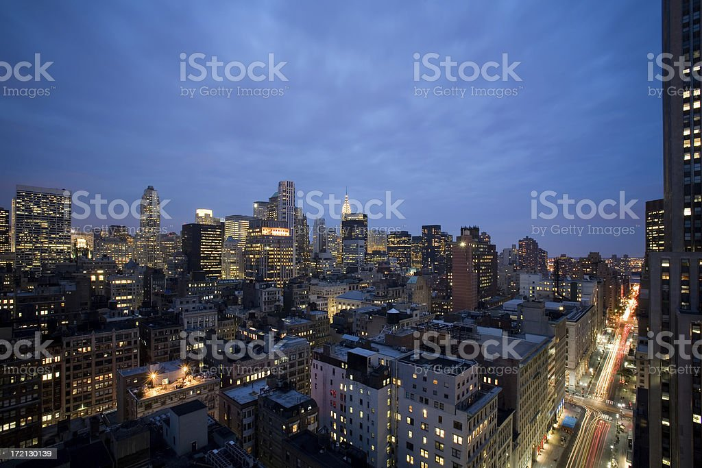 New York City background royalty-free stock photo