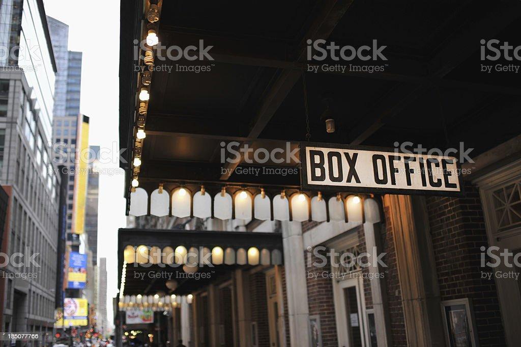 New York City Box Office stock photo