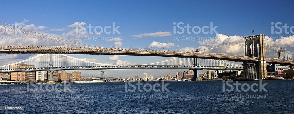 New York City Bridges royalty-free stock photo