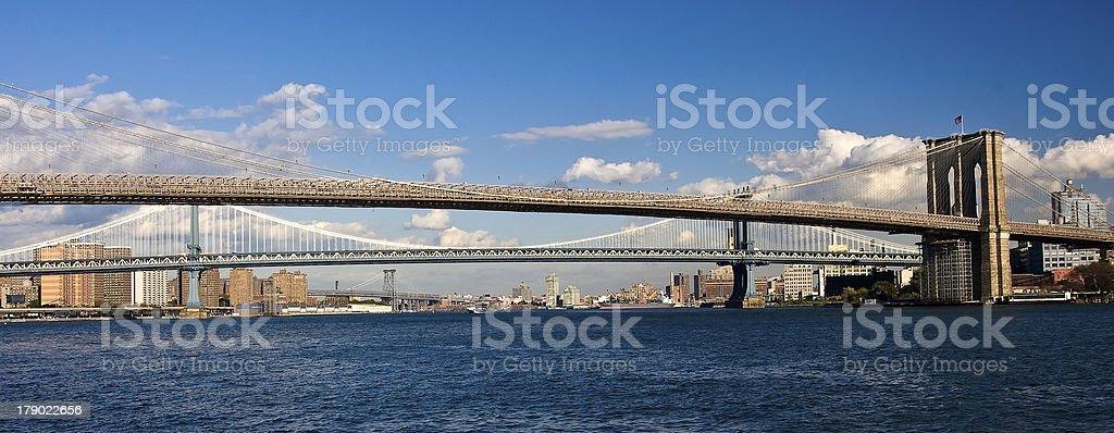 New York City Bridges stock photo