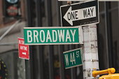 New York City Broadway sign