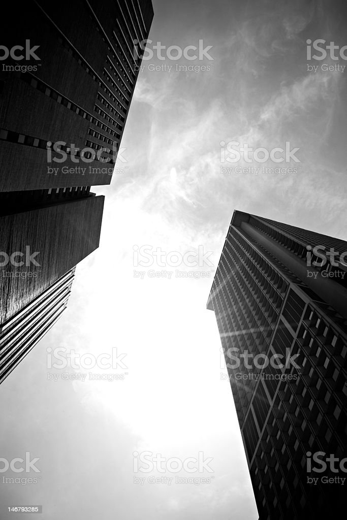 New York City Buildings royalty-free stock photo