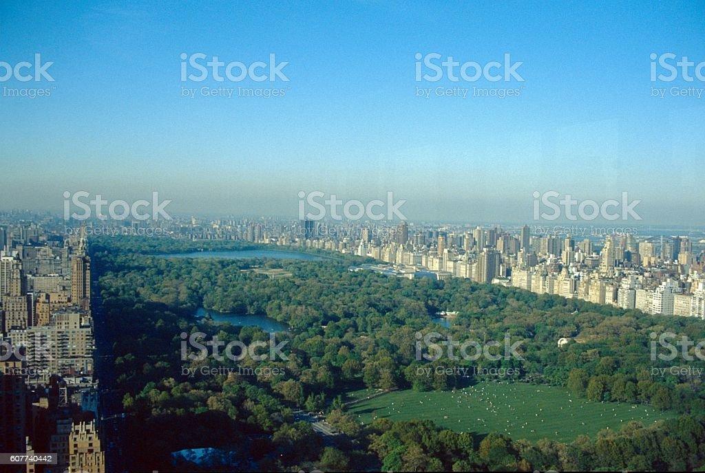 New York City, Central Park, 1980 stock photo