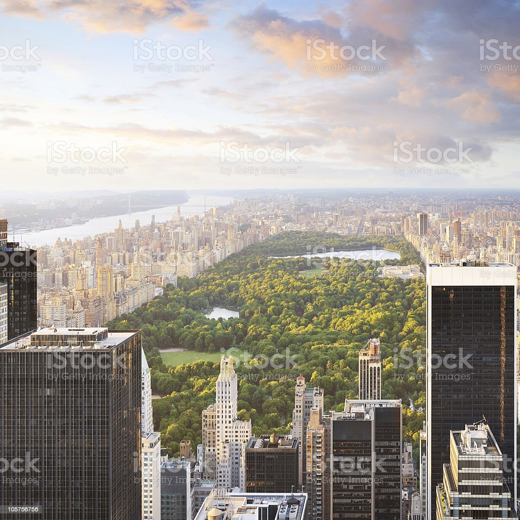New York City - central park stock photo