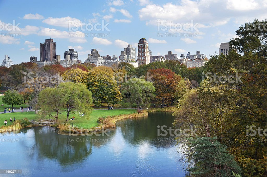 New York City Central Park royalty-free stock photo