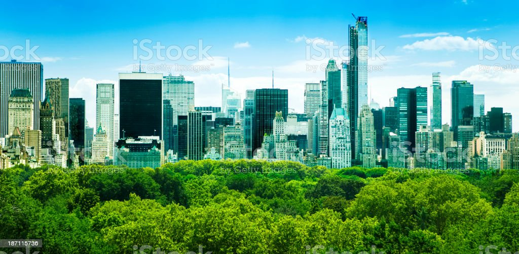 New York City, Central Park royalty-free stock photo