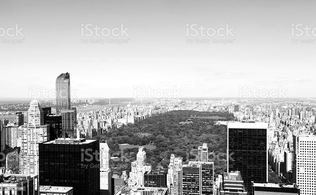 New York City Central Park stock photo