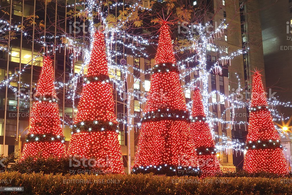 New York City: Christmas royalty-free stock photo