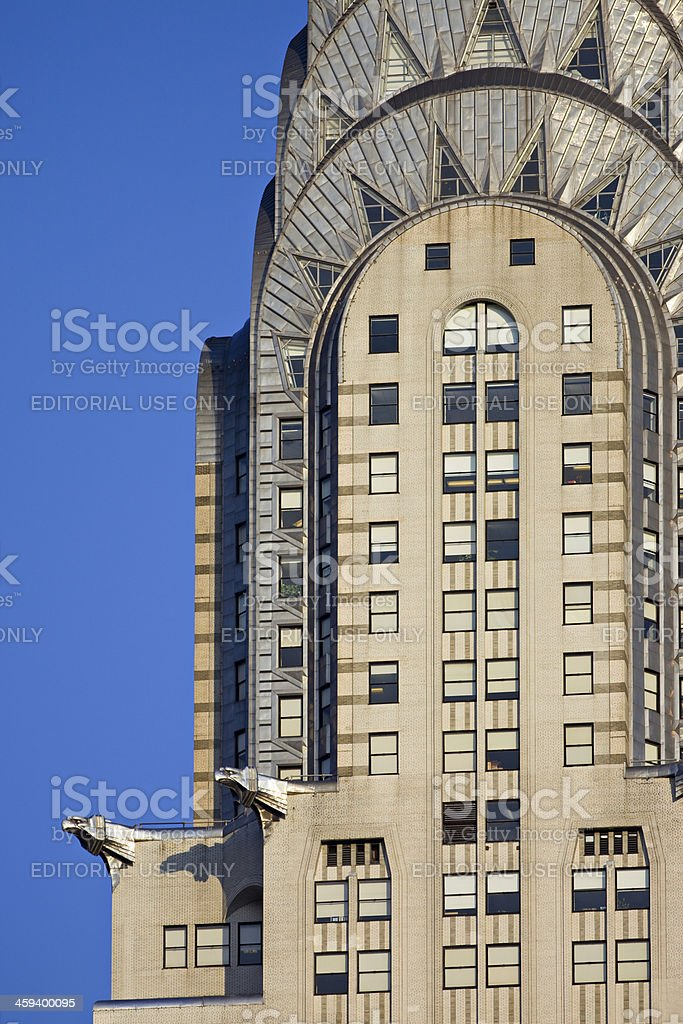 New York City, Chrysler Building royalty-free stock photo