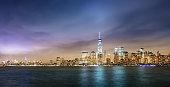 New York City Cityscape Panorama