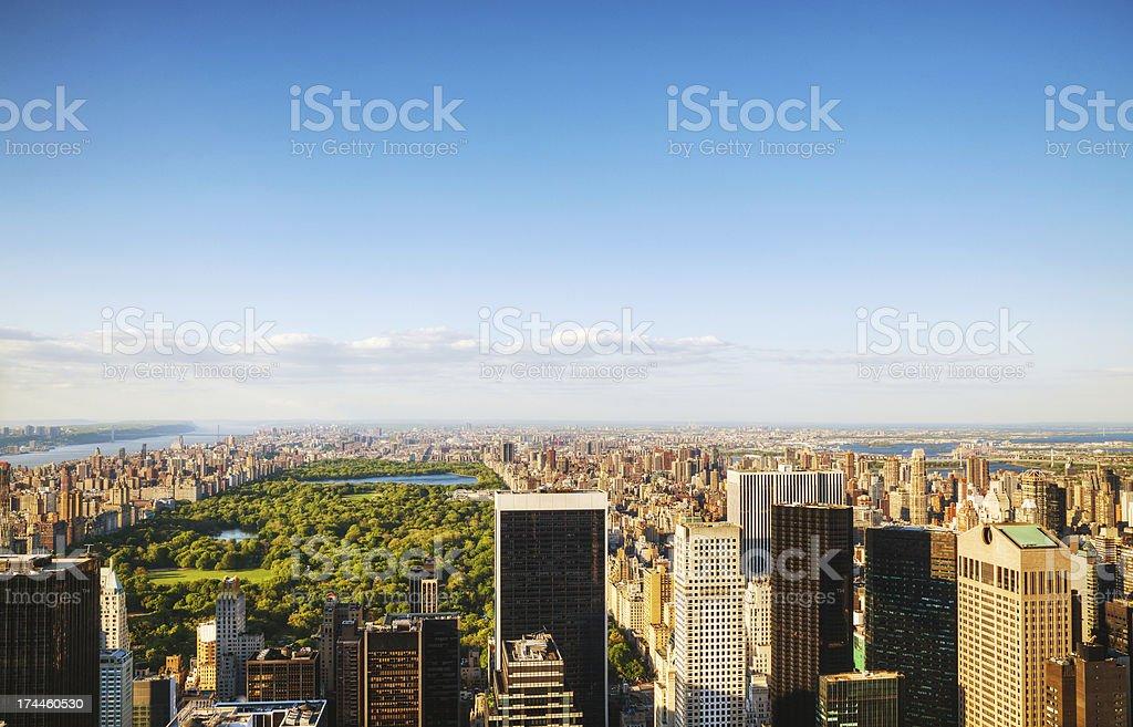 New York City cityscape royalty-free stock photo