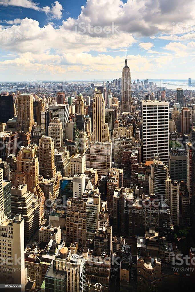 New York City Classic Vista royalty-free stock photo