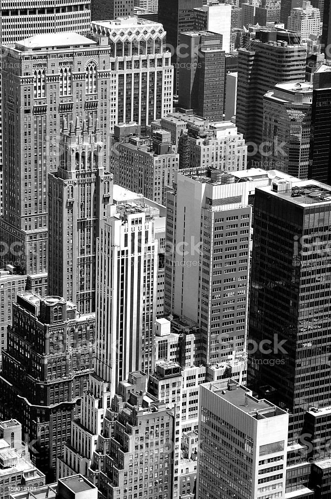 New York City detail royalty-free stock photo
