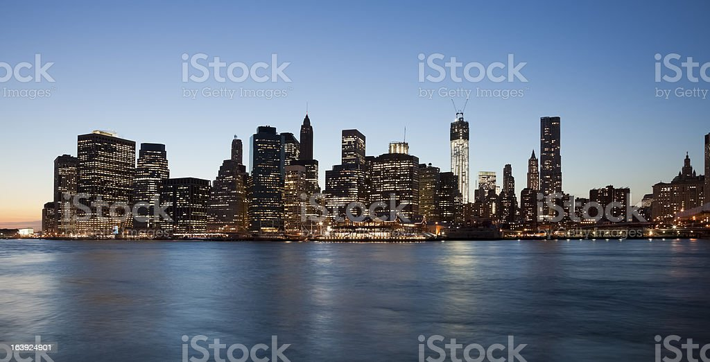 New York City Downtown royalty-free stock photo