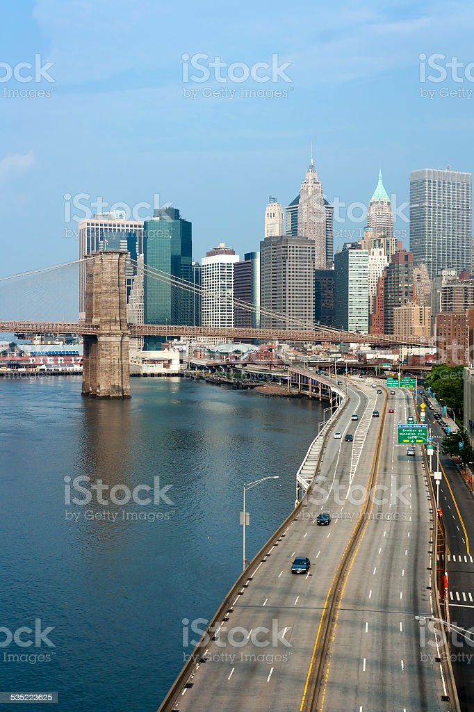 New York City Financial District stock photo