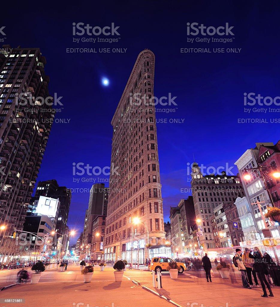 New York City Flatiron Building stock photo