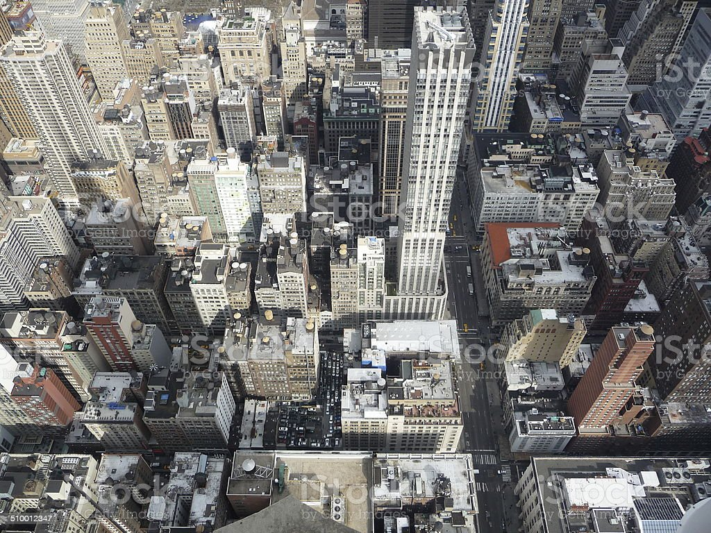 New York City From Above stock photo