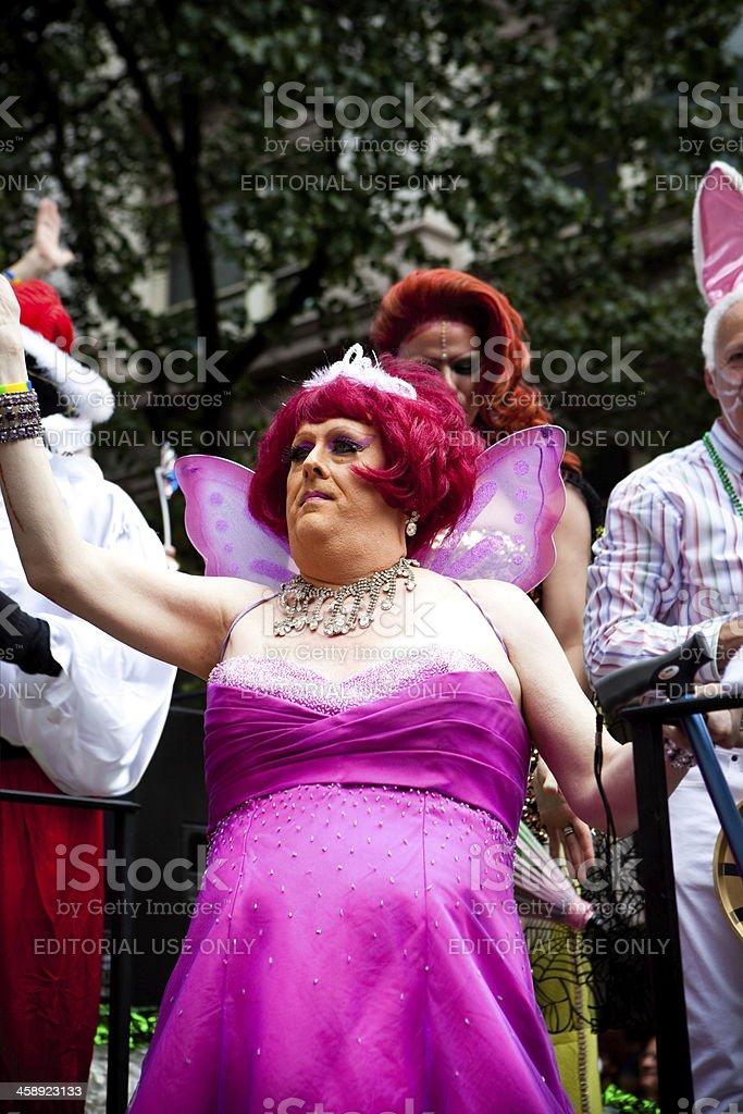 New York City Gay Pride Parade royalty-free stock photo